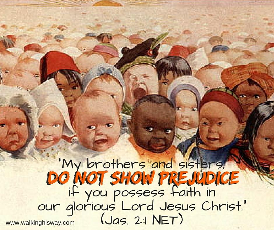June 10 Jas 2.1 Prejudice