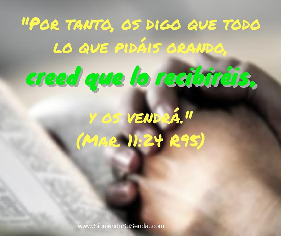 Julio 12 Mr11.24 creed y reciba