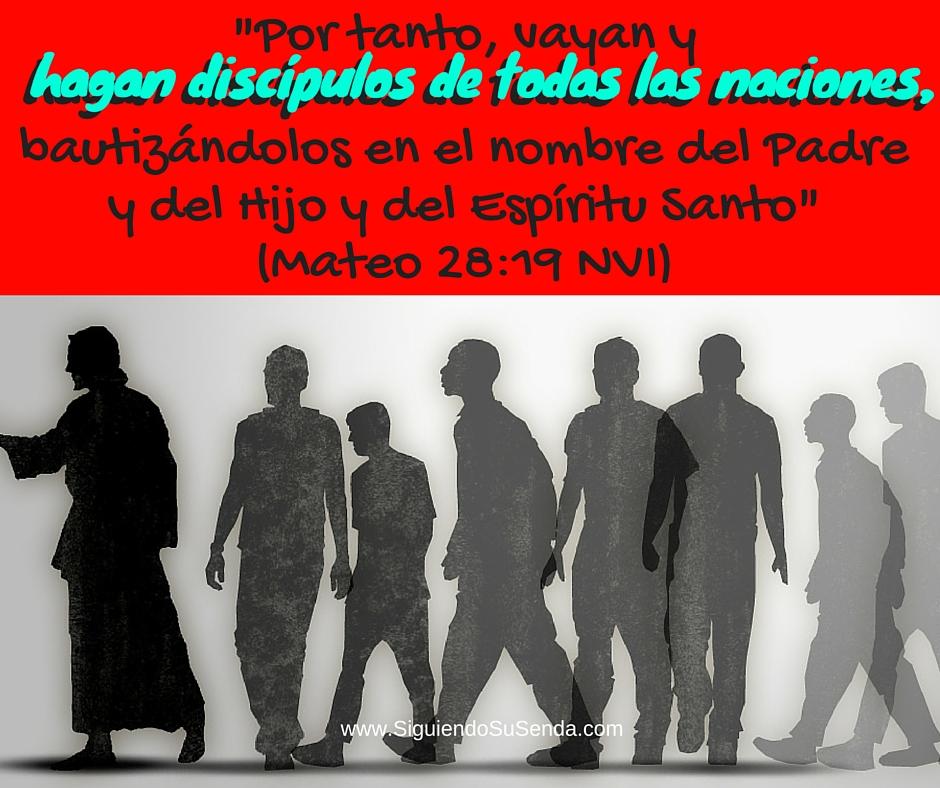 Julio 27 Mt28.19 make disciples