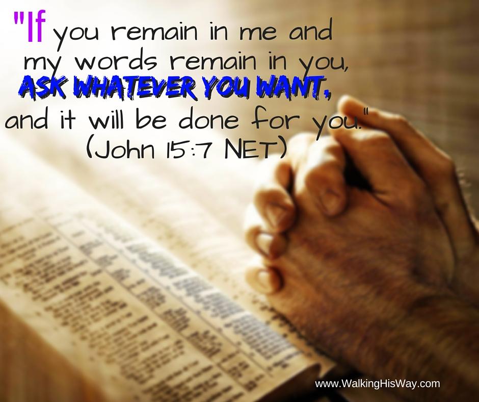 July 13 Jn15.7 Ask