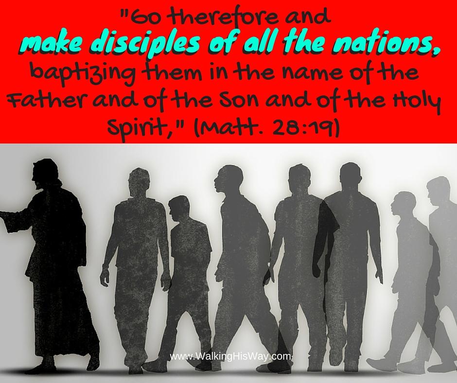 July 27 Mt28.19 haga discipulos