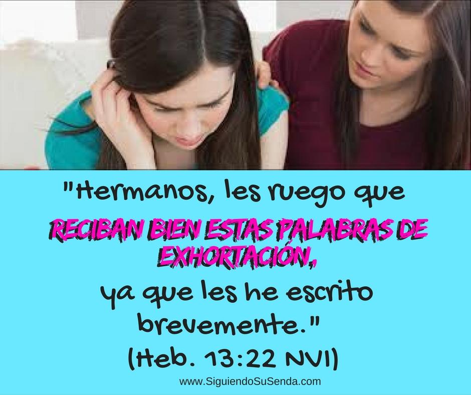 Ago 13 He13.22 Exhortacion