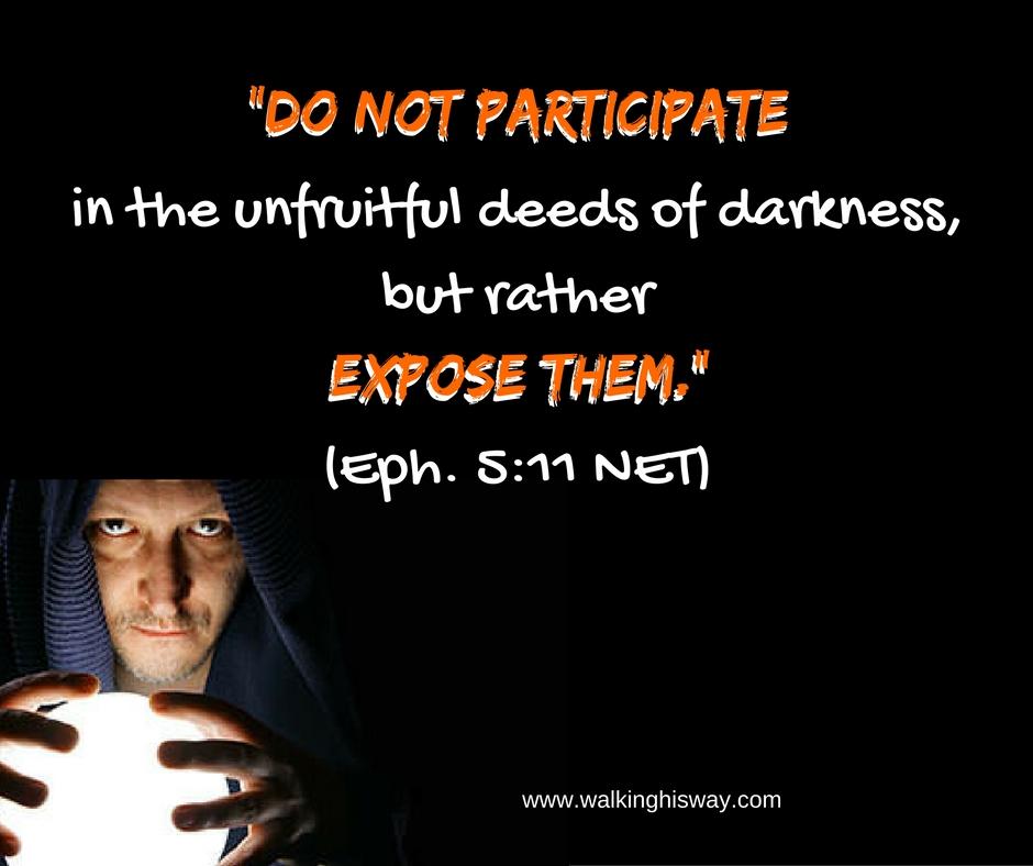 Aug 30 Eph 5.11 Darkness