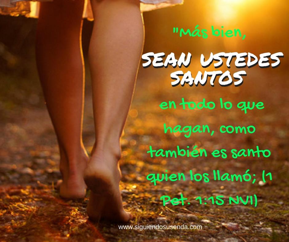 Sept 5 1Pet1.15 sed santo